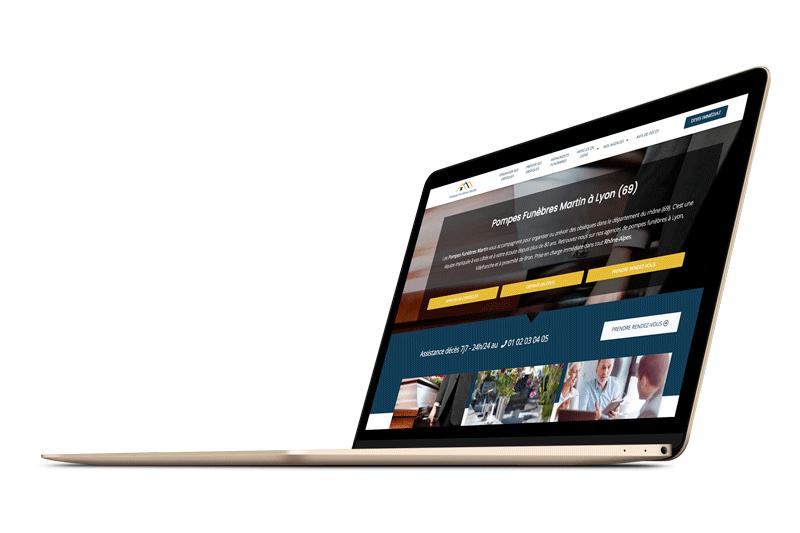 site internet pompes funèbres